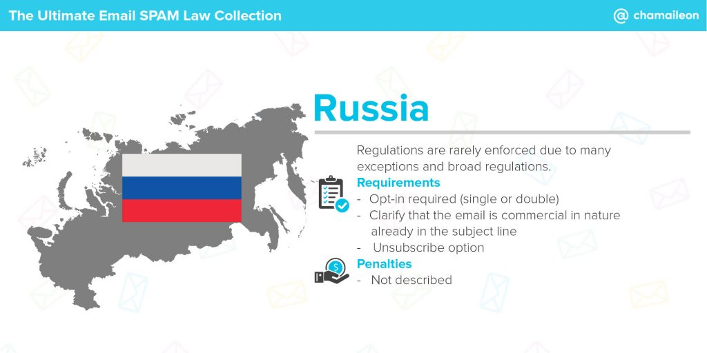 email spam law russia