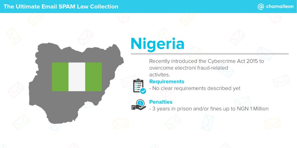 email spam law nigeria