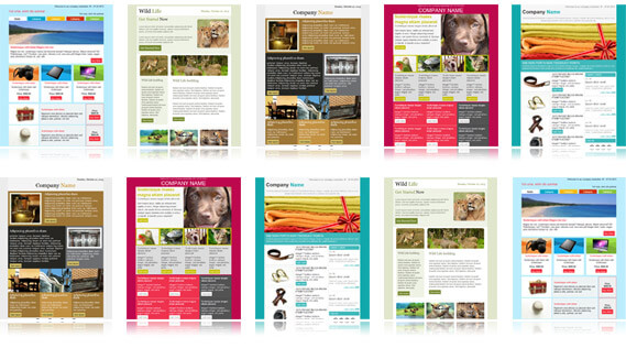 10 free responsive newsletter templates