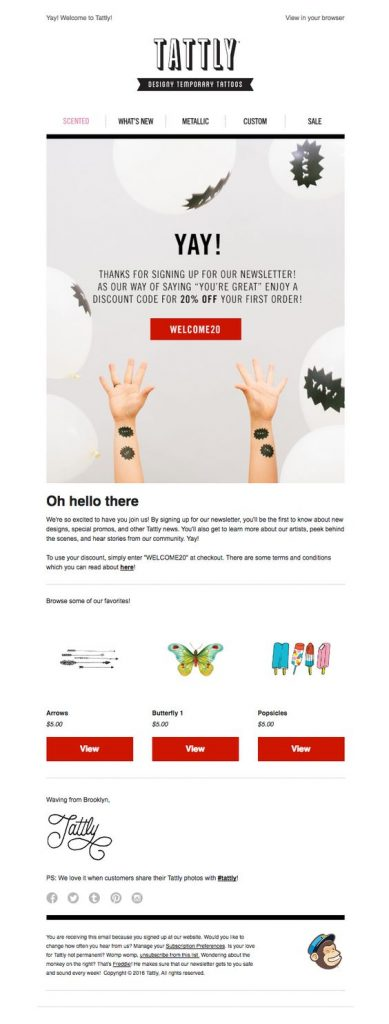Tattly-Welcome-email