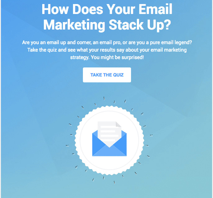 Email content block - custom icon and a nice background image