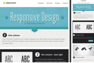Responsive email template from Email on Acid