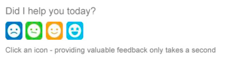 feedback in email signature