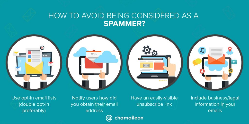 how to avoid being a spammer