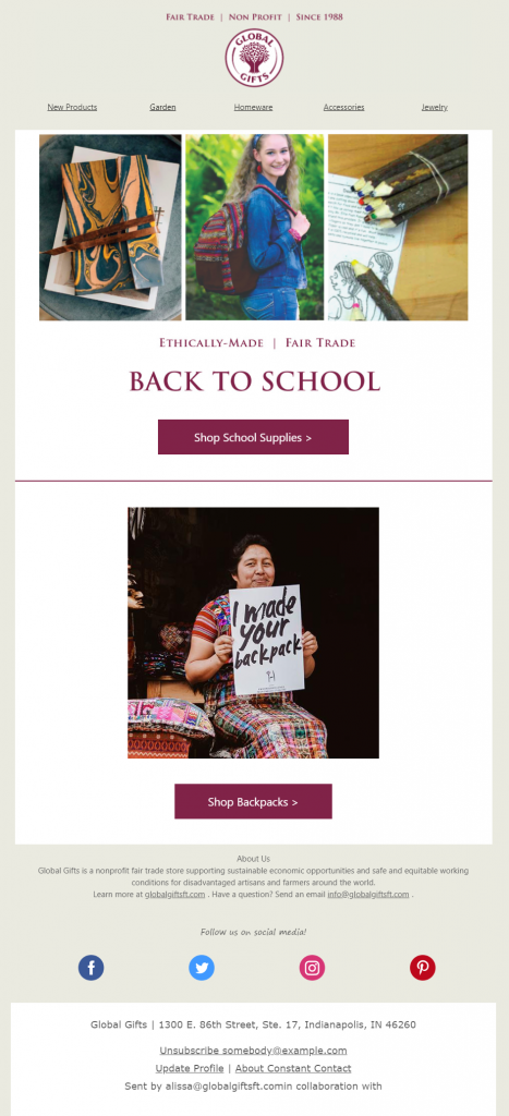 nonprofit-back-to-school-email-example