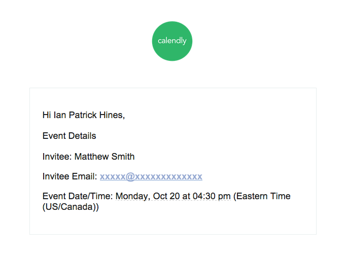 sample what to include in the event reminder email
