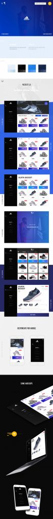 PixsHub Adidas Mobile responsive email template example