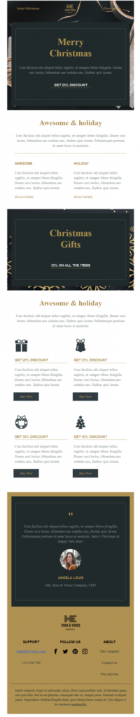 angela-christmas-email-template