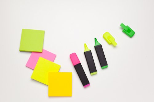 Design Sprint Tools: Markers and Sticky Notes