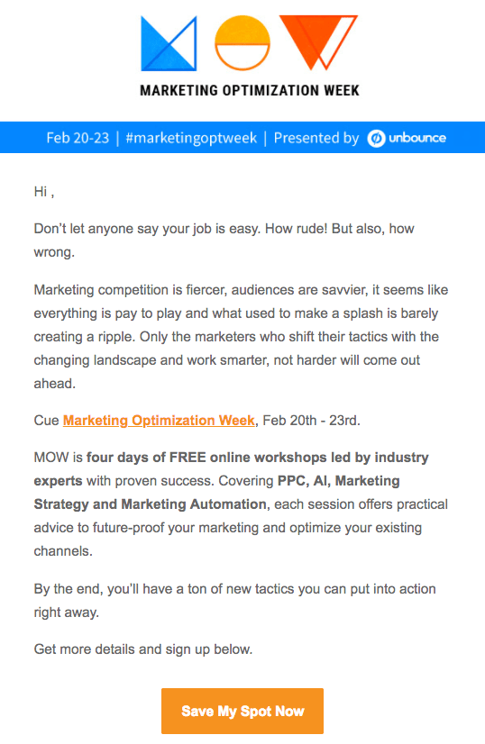 10 Of The Best Webinar Invitation Email Examples You Ve Ever