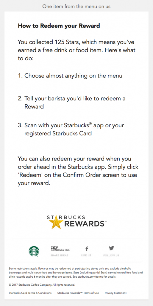 you-ve-earned-a-free-drink-or-food-item-loyalty-email