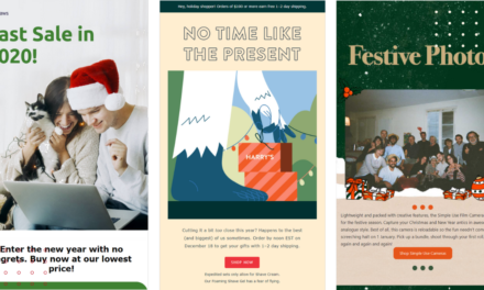 The greatest New Year Email Ideas and Examples (+Email Subject Lines)