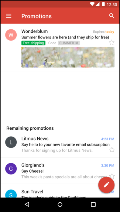 litmus gmail promotions tab builder