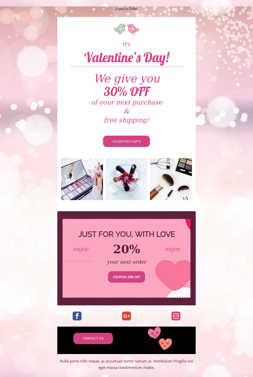 valentine's day email templates, Free Valentine's Day Email Templates, Ready to Use!