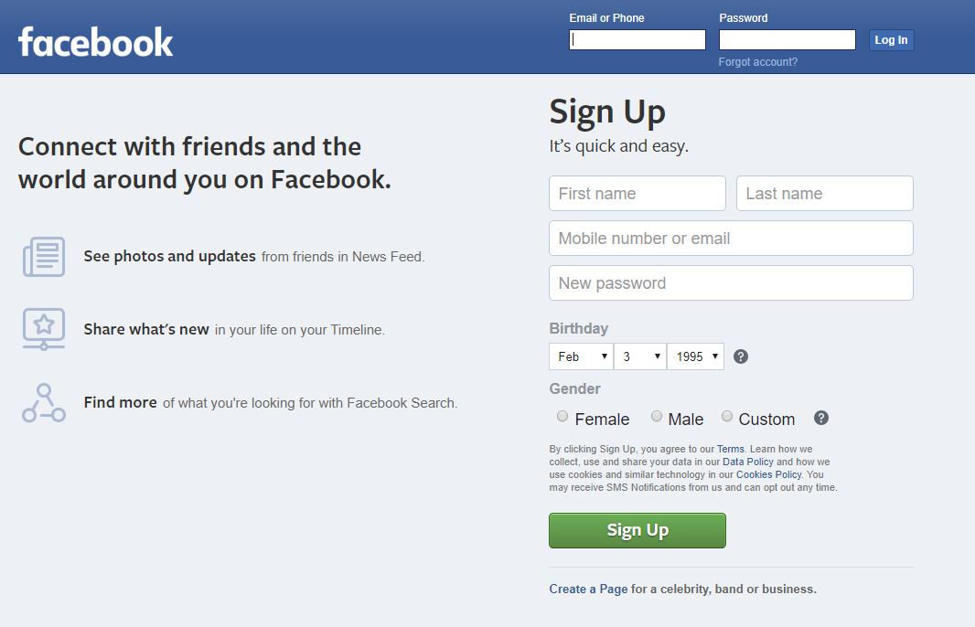sign-up-form-facebook