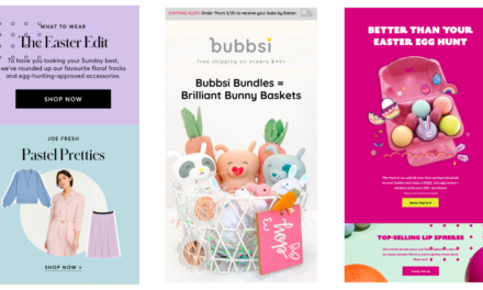 Easter Email: Templates, Examples from Real Brands & 50 Subject Lines