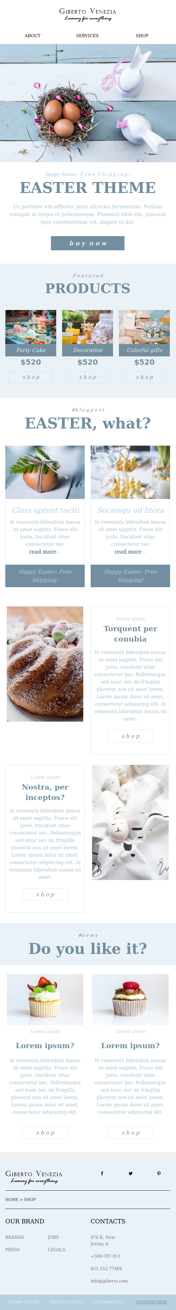 easter email templates, Free Easter Email Templates Ready to Use | HTML Emails