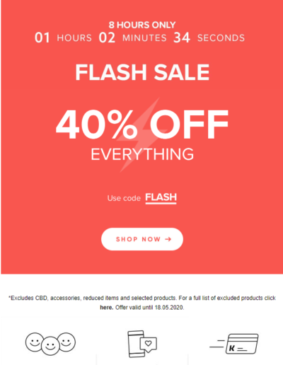 Email 22. FLASH SALE... Go!
