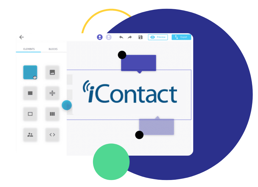 icontact email editor, iContact Email Builder: Design HTML Emails with Chamaileon & Snyc to iContact