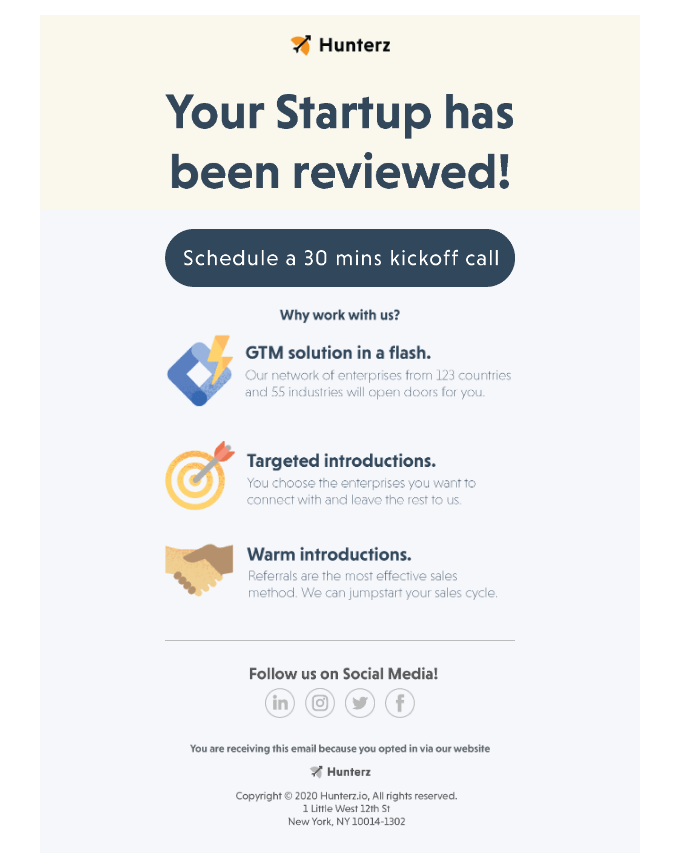 your-startup-has-been-reviewed