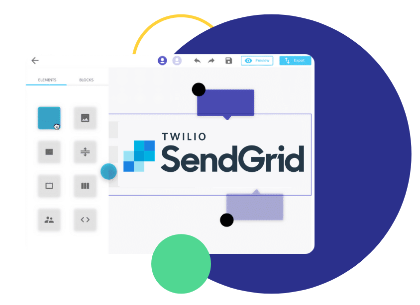 email builder for sendgrid, Sendgrid Email Template Editor | Design HTML Emails in Chamaileon & Send them with Sendgrid