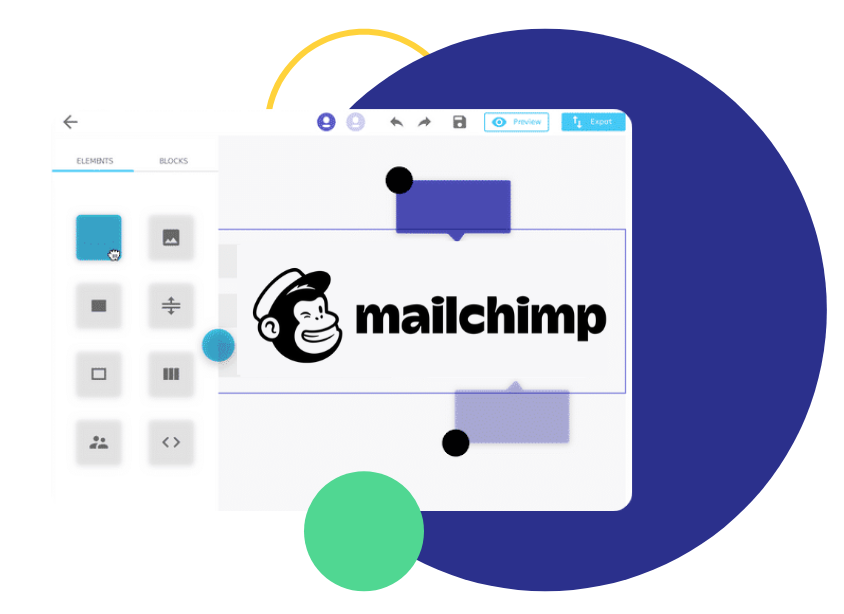 mailchimp template builder, Mailchimp Integration