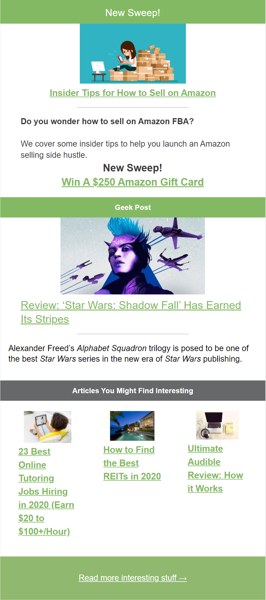 -the-money-mix-amazon-selling-star-wars-sweeps-and-more