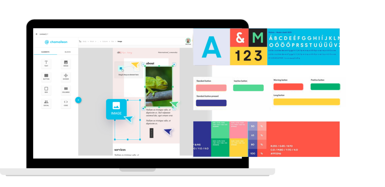 email design system, Email Design System with Chamaileon   Build a Consistent Brand Through Email