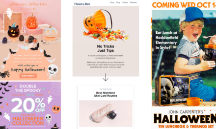 Spooky Halloween email campaign examples & subject lines for 2020