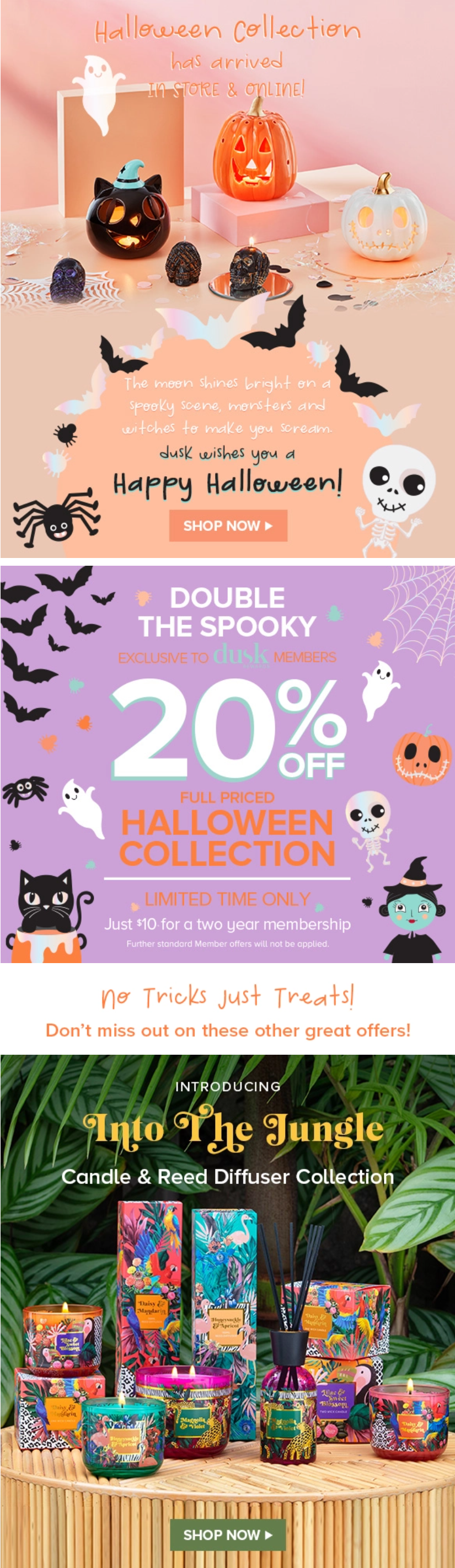 Halloween collection has arrived in store and online