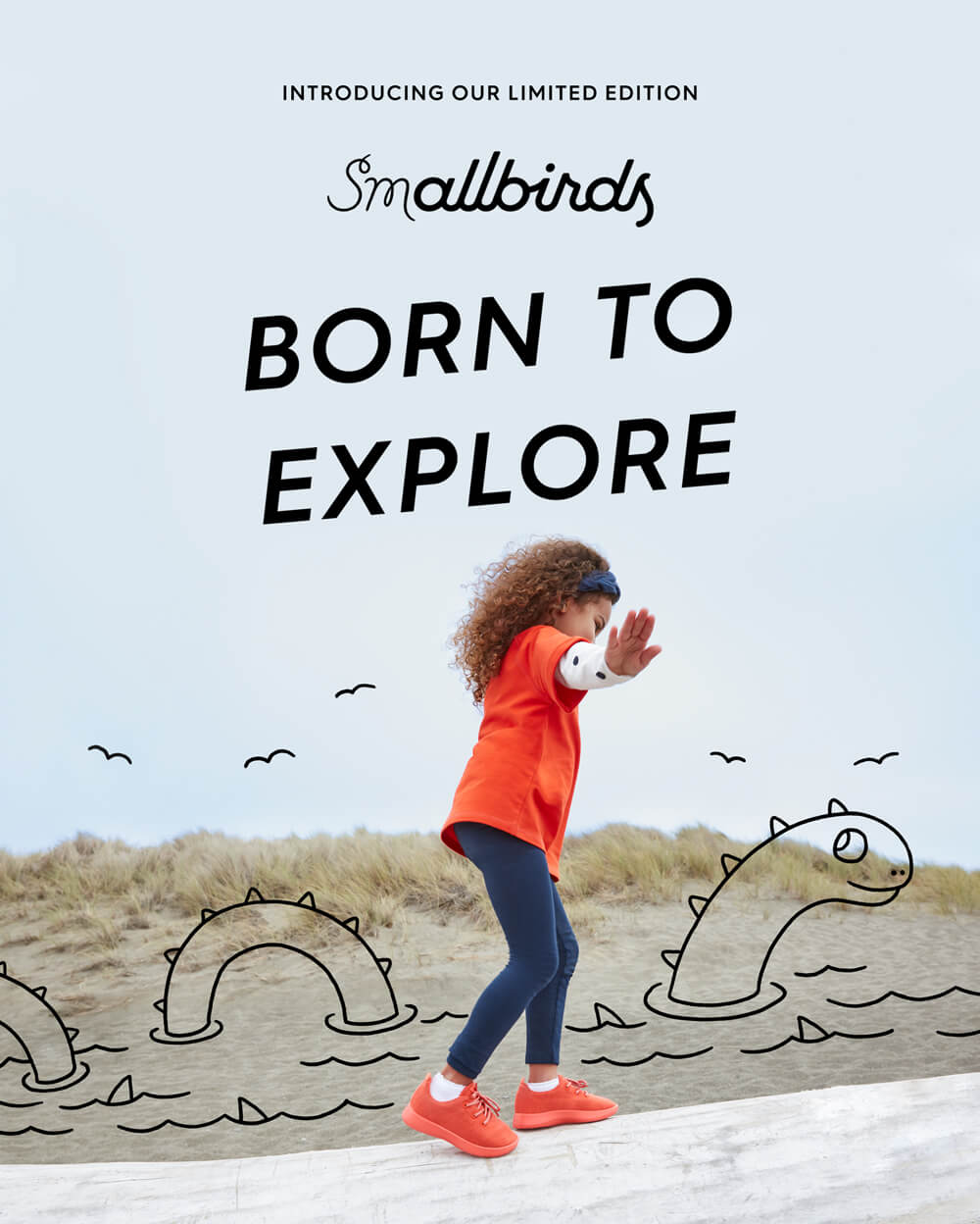 born to explore - silly campaign