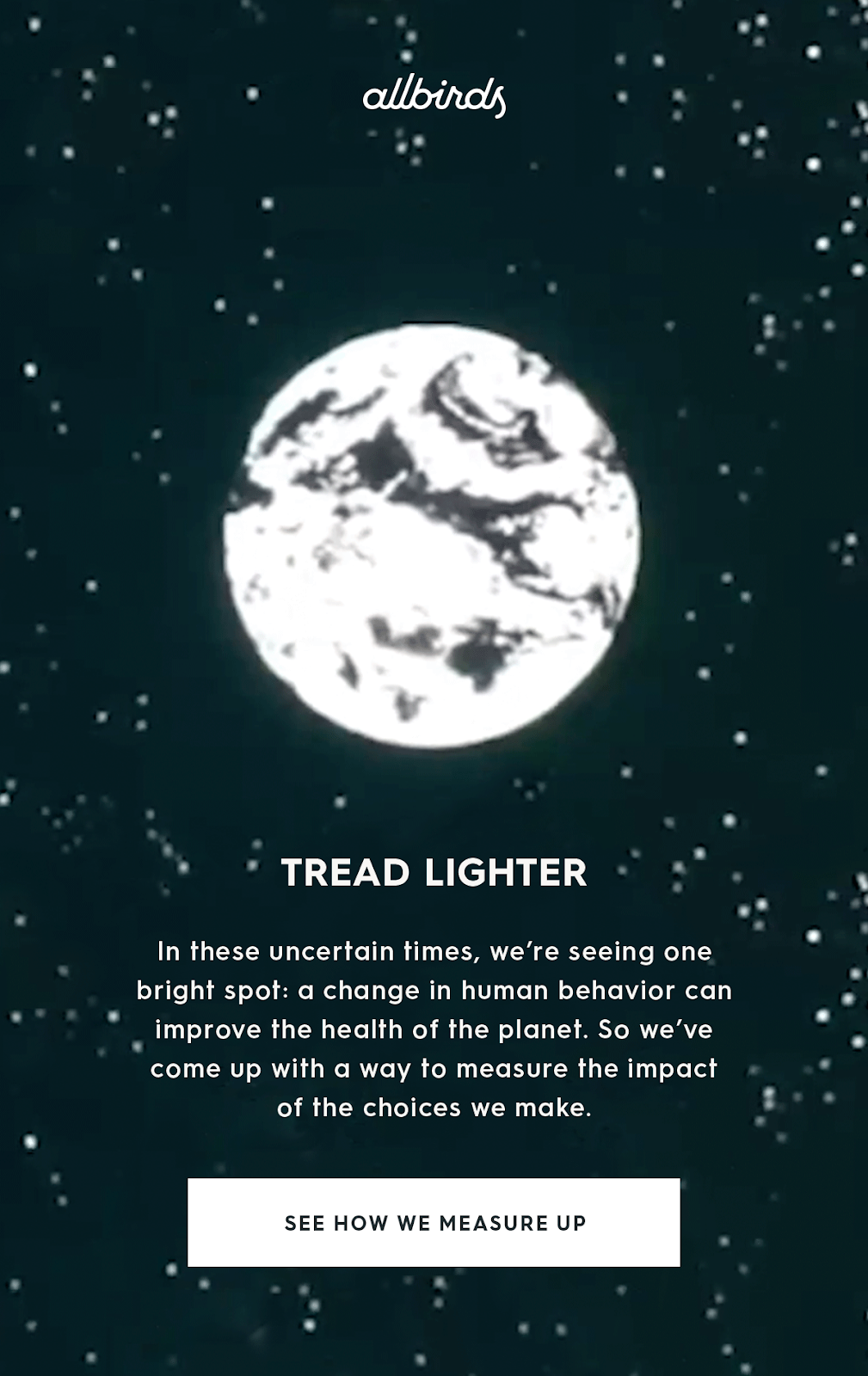 tread lighter - serious campaign