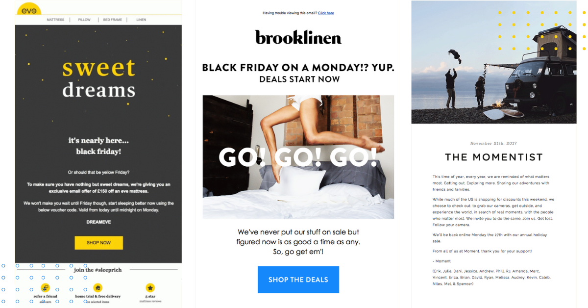 Black Friday Email Examples, Templates and 30 Subject Lines To Jump Start Your Holiday Campaigns