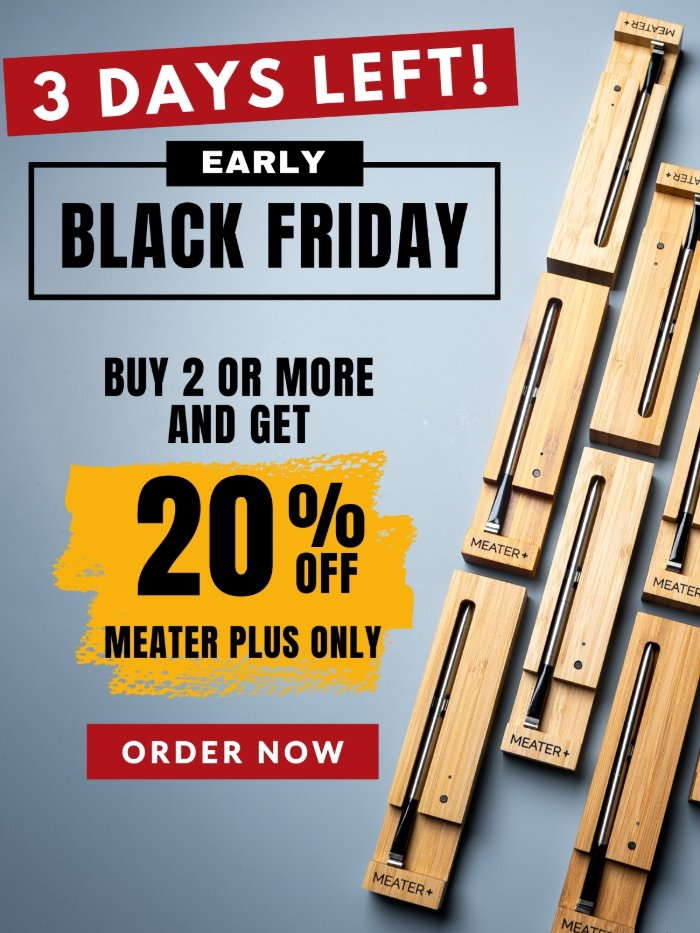 Early Black Friday Day Deal - 20% Off! Plus Thanksgiving Turkey Tips!Early Black Friday Day Deal - 20% Off! Plus Thanksgiving Turkey Tips!