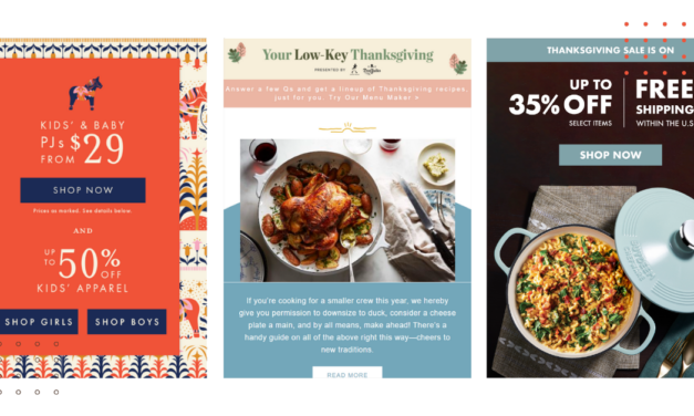 31 Ways to Design Your Thanksgiving Email Template & Subject Line