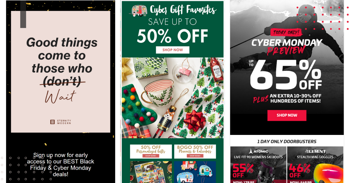 15 Cyber Monday email examples for 2020