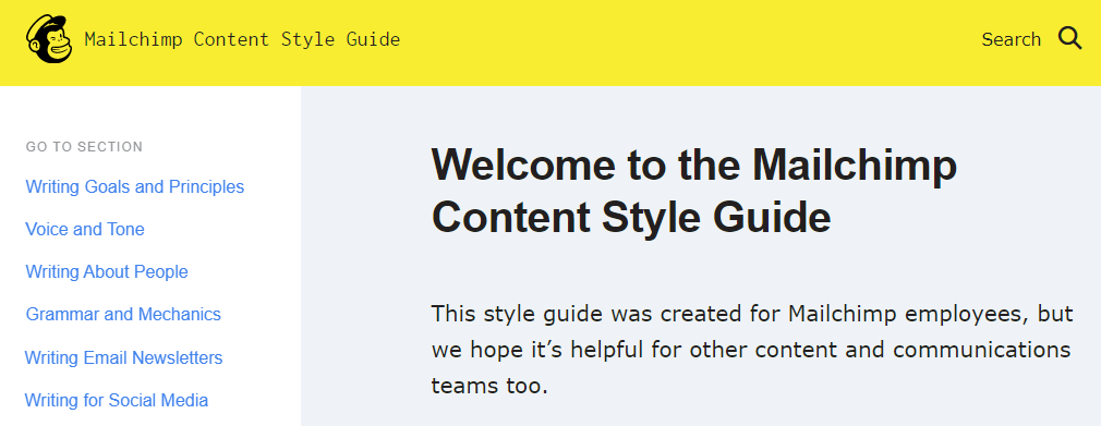 mailchimp-style-guide