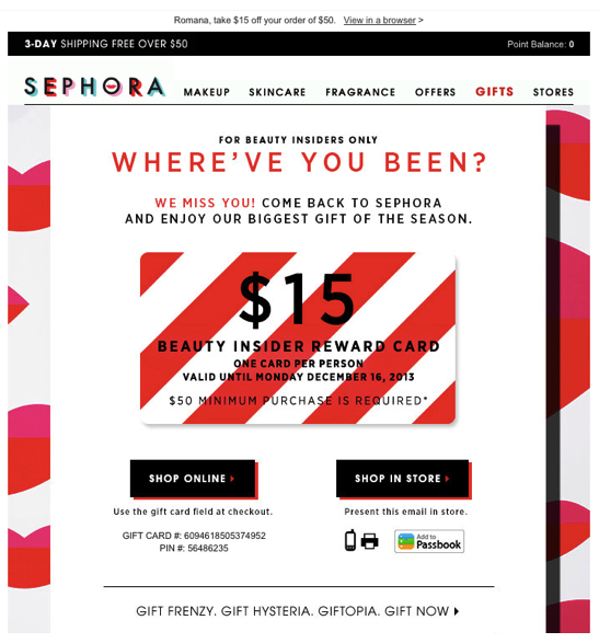 sephora where have you been