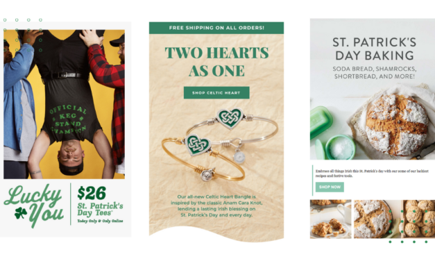 St. Patrick's Day Email Campaigns 2021 with Subject Lines & Free Templates
