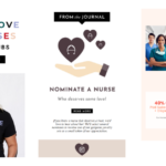 International Nurses Day email marketing campaigns & examples
