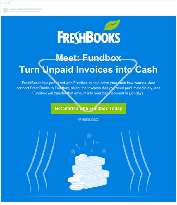 Fresh books - inverted email