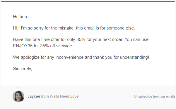 wallsneedlove-email-by-mistake