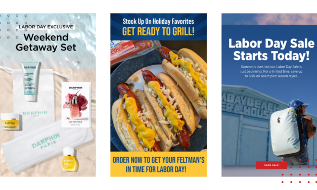 Labor Day email campaign examples that'll inspire you!