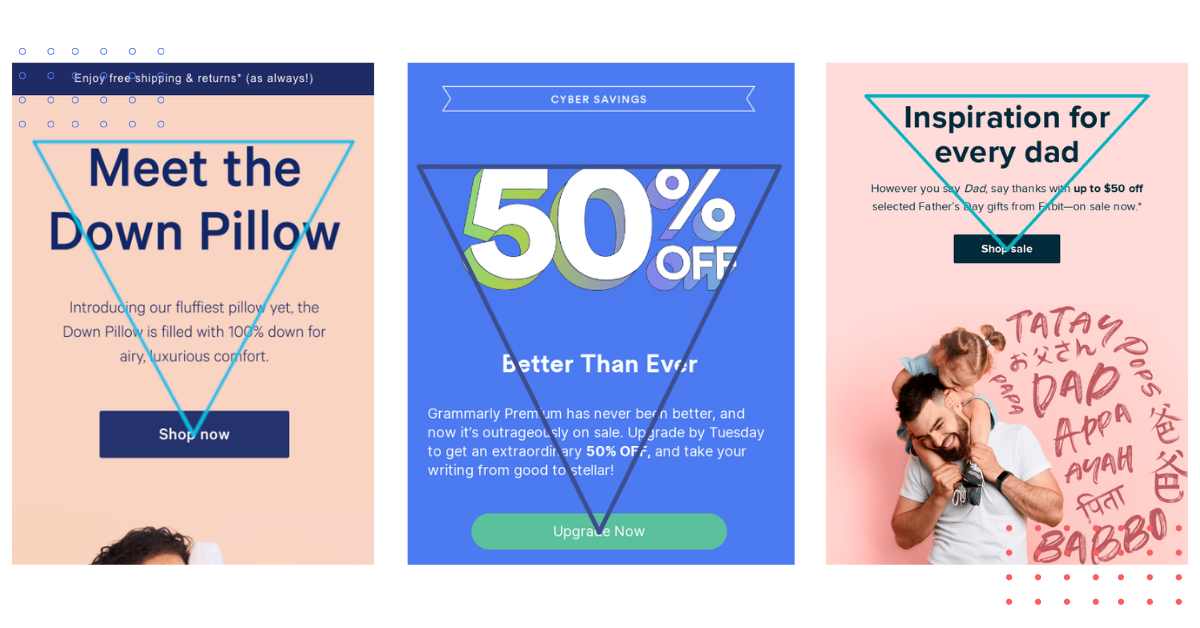 How to Use the Inverted Pyramid Method in Your Email Design?